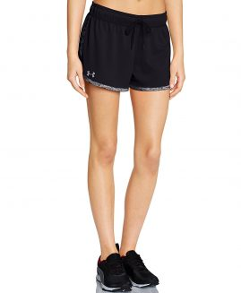 Under Armour Heat Gear Women's Tech Shorts Black Size SM