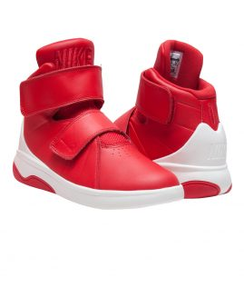 NIKE Marxman Sneaker Red Leather Size 38 Eur