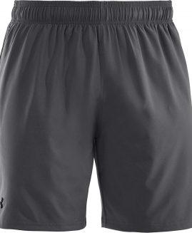 Under Armour Heatgear Mirage 8' Grey Short Men Size SM