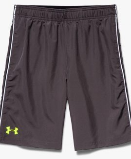 Under Armour Boys Edge Shorts - Charcoal Size YLG