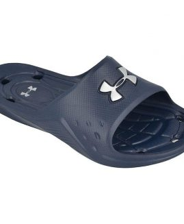 Under Armour Men's Locker II Sl Sandal Blue Size 41 Eur
