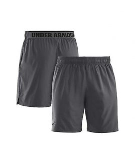Under Armour Heatgear Mirage 8' Grey Short Men Size XL