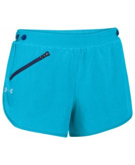 Under Armour Women's Fly Fast Shorts Bleu Size MD