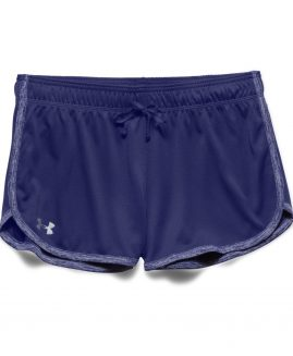 Under Armour Heat Gear Women's  Tech Short  Purple Size MD