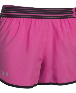 Under Armour Perfect Pace Shorts Women Pink Size MD
