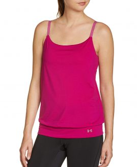 Under Armour  Essential Banded Tank - Women's Magenta Shock Size MD