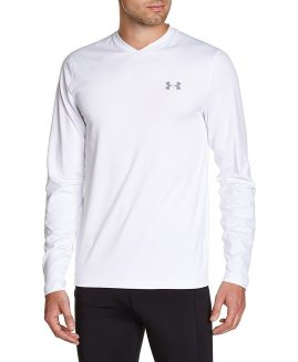 Under Armour Tricou mineca lunga Cold Gear Infrared Alb XL