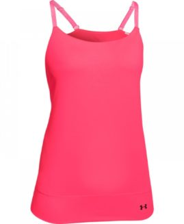 Under Armour Studio Essential Banded Tank Pink Marime LG