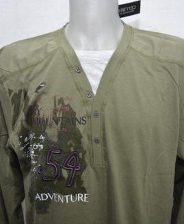 Tricou bumbac mineca lunga 2 XL CELLBES Adventure - talie 134 cm
