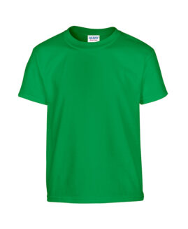 Tricou bumbac mineca scurta, xxxxl american, GILDAN verde irish - talie 170 cm