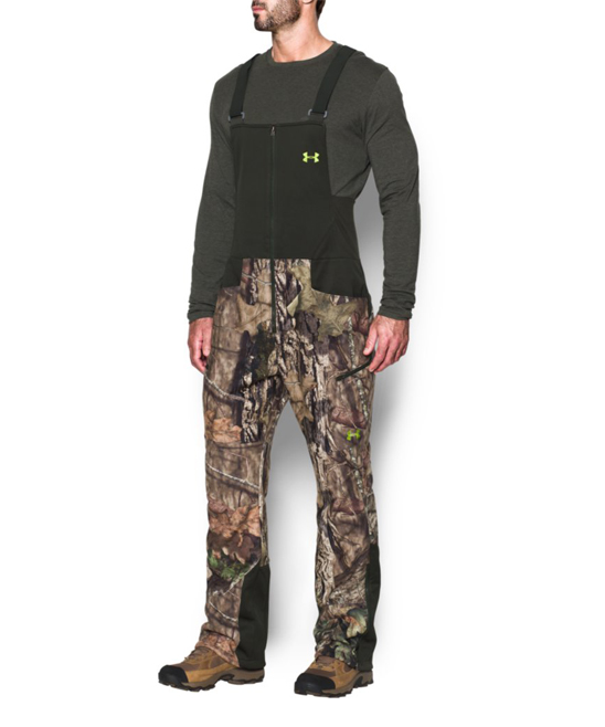 Salopeta UNDER ARMOUR Mossy Oak Break Up Country Stealth Fleece Ski Bib Size SM