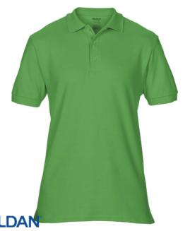 Tricou pique polo bumbac premium Verde deschis 2 XL GILDAN USA