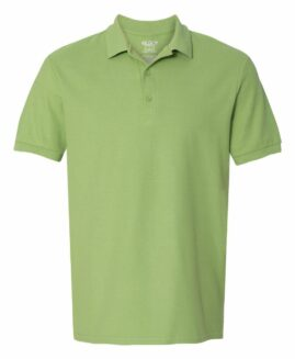 Tricou pique polo bumbac premium Verde Kiwi 2 XL GILDAN USA