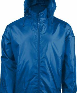 Geaca Windbreaker unisex interior tricot  Albastru 3 XL KARIBAN