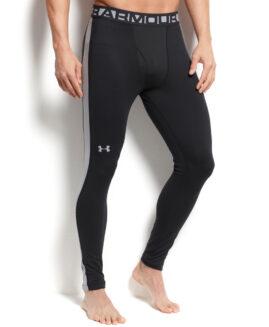 Pantalon stretch cu compresie marime XL UNDER ARMOUR COLD GEAR