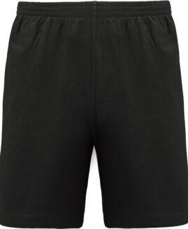 Pantalon marime mare, scurt, bumbac subtire, Negru, 4 xl american PROACT