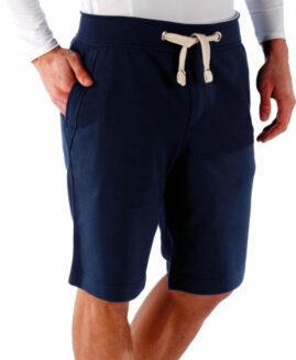 Pantalon scurt bumbac , talie elastica si snur , 2 xl american Kariban navy