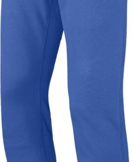 Pantalon marime mare, trening bumbac, talie elastica si snur, 4 xl american, Kariban royal blue