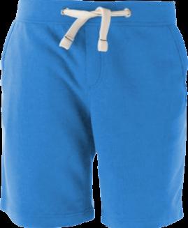 Pantalon scurt bumbac , talie elastica si snur , 3 xl american Kariban royal blue