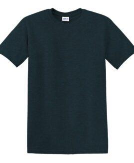 Tricou marime mare, heavy cotton, mineca scurta, Midnight, 2 XL GILDAN USA