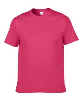 Tricou unisex marime mare, heavy cotton, mineca scurta, Heliconia, 2 XL GILDAN USA