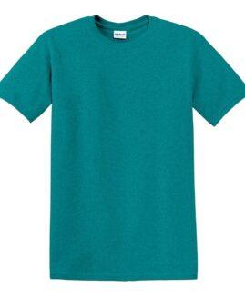 Tricou marime mare, heavy cotton, mineca scurta, Antique jadome, 2 XL GILDAN USA