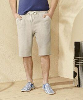 Pantalon scurt marime mare, bermude bumbac xxxl