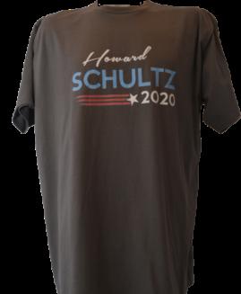 Tricou cu imprimeu marime mare, bumbac ring spun, xxl american, SCHULTZ 2020