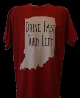 Tricou cu imprimeu marime mare, bumbac ring spun, xxl american, DRIVE FAST