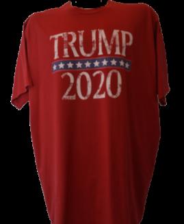 Tricou cu imprimeu marime mare, bumbac ring spun, xxxl american, TRUMP 2020