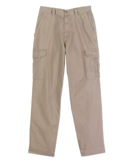 Pantalon marime mare bumbac, cargo pants 46×29 american, BASIC EDITIONS Bej
