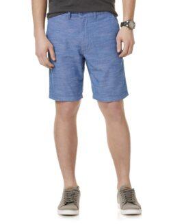 ROUTE 66 pantalon scurt bumbac, marime mare americana 42, Albastru
