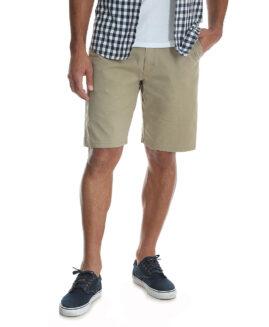 Wrangler pantalon stretch scurt cargo, marime mare americana 48, Crem