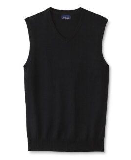 Vesta tricot marime mare, xxxl american, Basic Editions Negru