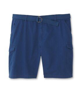 NORTHWEST TERRITORY pantalon scurt cargo, cu curea inclusa, marime mare americana 46, Turcoaz