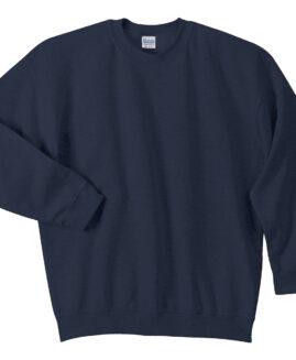 Tricou marime mare mineca lunga, xxxxl american, Gildan Navy