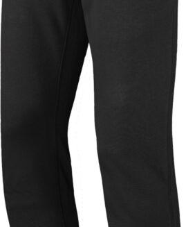 Pantalon marime mare, trening bumbac, talie elastica si snur, xxl american, Kariban negru