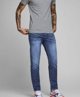 Pantalon marime mare, jeans stretch talie joasa, JACK & JONES regular fit toby 42X32