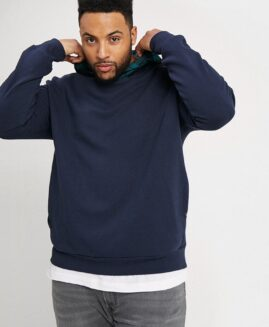 Hanorac marime mare, model urban street, xxxxxl american, JACK & JONES