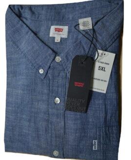 Camasa jeans marime mare americana, LEVI'S STRAUSS 5 XL