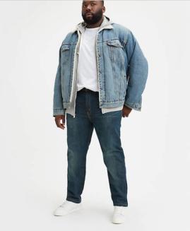 Pantalon jeans marime mare americana, LEVI'S STRAUSS 502 REGULAR TAPER 48X34