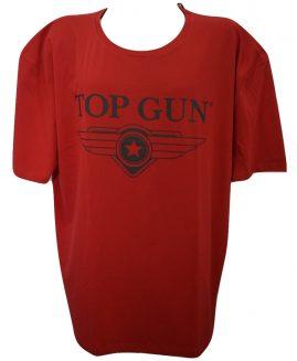 Tricou marime mare, bumbac cu imprimeu, xxxl american, TOP GUN