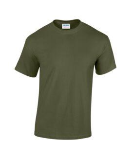 Tricou unisex bumbac mineca scurta, xxxl american ,  GILDAN USA army
