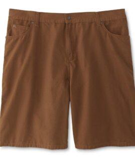 Pantalon scurt jeans subtire, marime mare americana, DIE HARD 48 maro