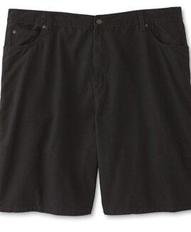 Pantalon scurt jeans subtire, marime mare americana, DIE HARD 46 negru