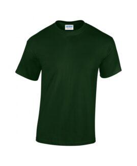 Tricou unisex bumbac mineca scurta, xxxl american , GILDAN USA verde forest