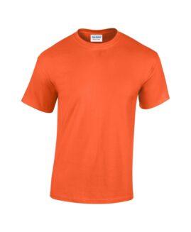 Tricou unisex bumbac mineca scurta, xxxl american , GILDAN USA orange
