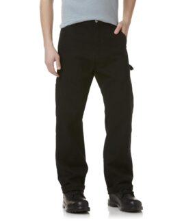 Pantalon marime mare 100% bumbac, carpenter pants 46×30 american, DIE HARD negru