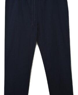 Pantalon marime mare trening bumbac, talie elastica si snur, xxxxl american, BABISTA