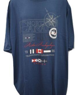 Tricou marime mare, bumbac cu imprimeu, xxxxxl american, NORTHERN CANADA